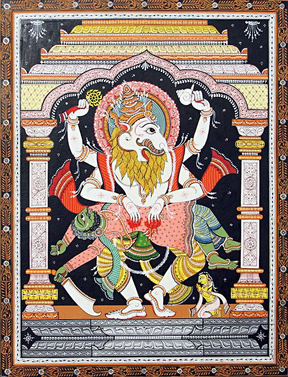 vishnu-as-narasimha-avatar-killing-demon-hiranyakashipu-BZ34_l